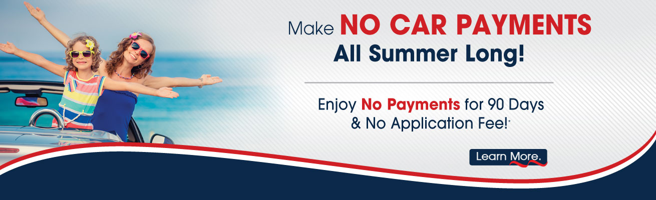 CAPE CU Make No Car Payments All Summer Long