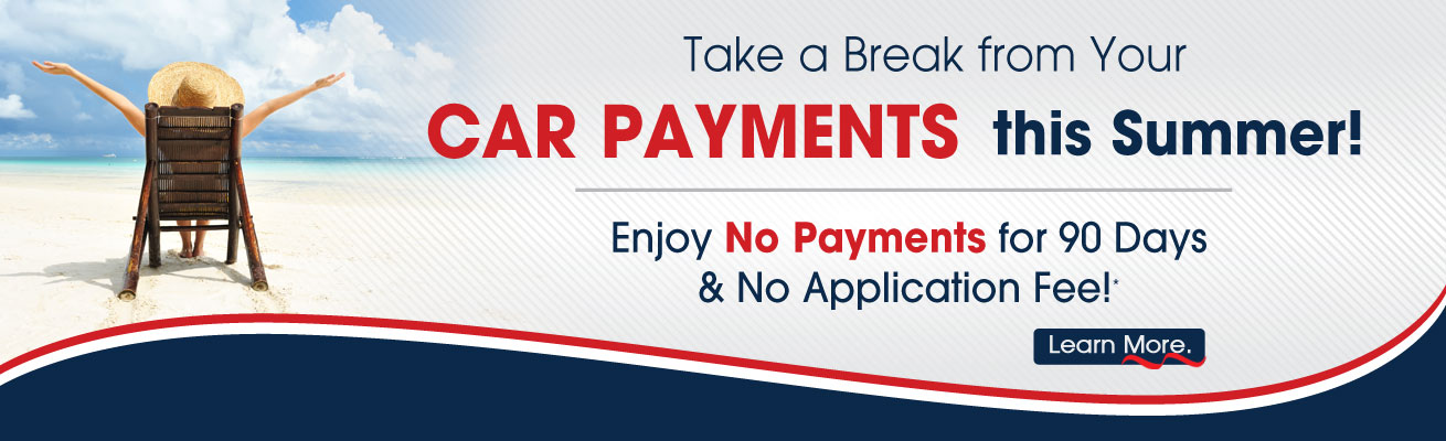 Enjoy No Car Payments All Summer Long