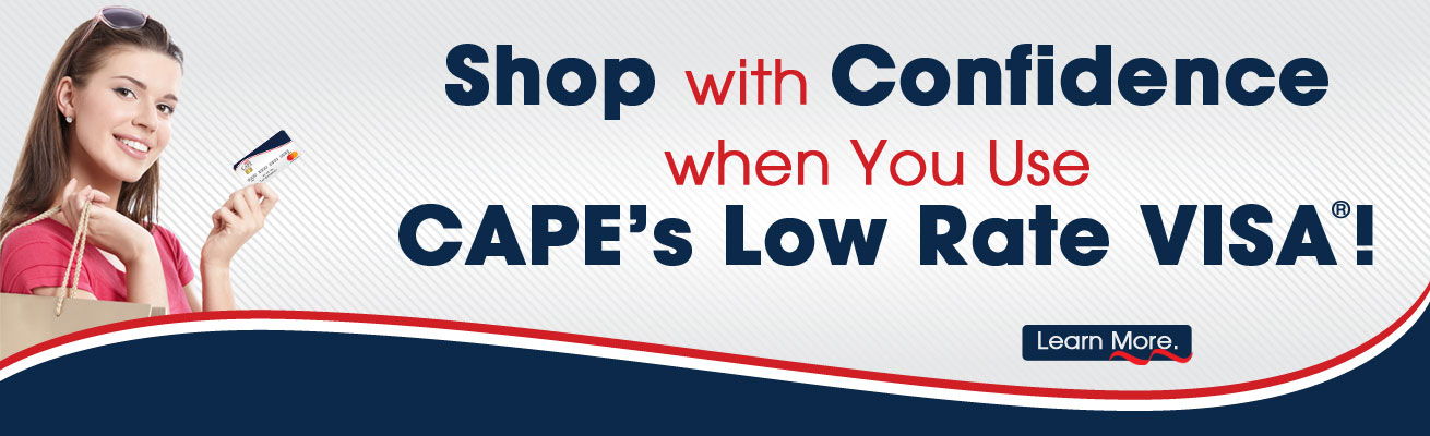 CAPE's Low Rate Visa