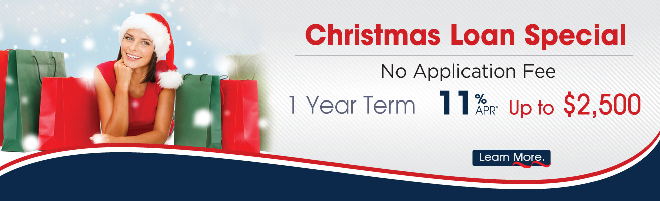 Christmas Loan Promotion Slide