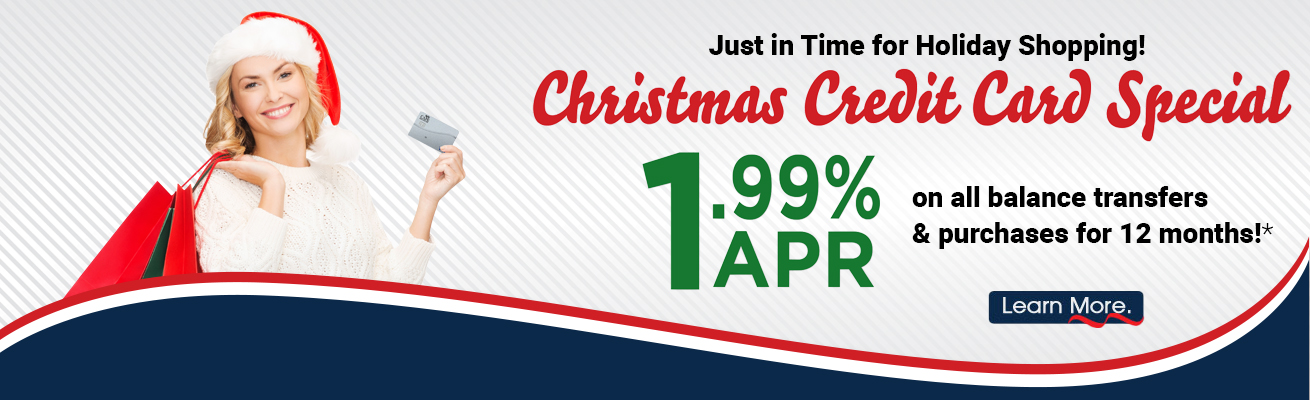 Christmas Credit Card Special