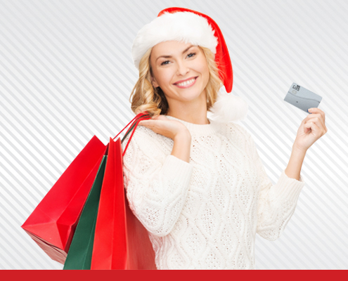 Holiday Credit Card Special Graphic